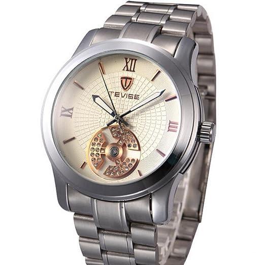 Venta marca Tevise pulsera para relojes Sports hombre Business Casual Online Soko acero reloj infantil de cuarzo resistente al agua: Amazon.es: Relojes