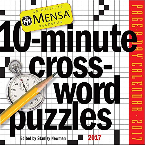 10-Minute Crossword Puzzles 2017 Page-A-Day Calendar