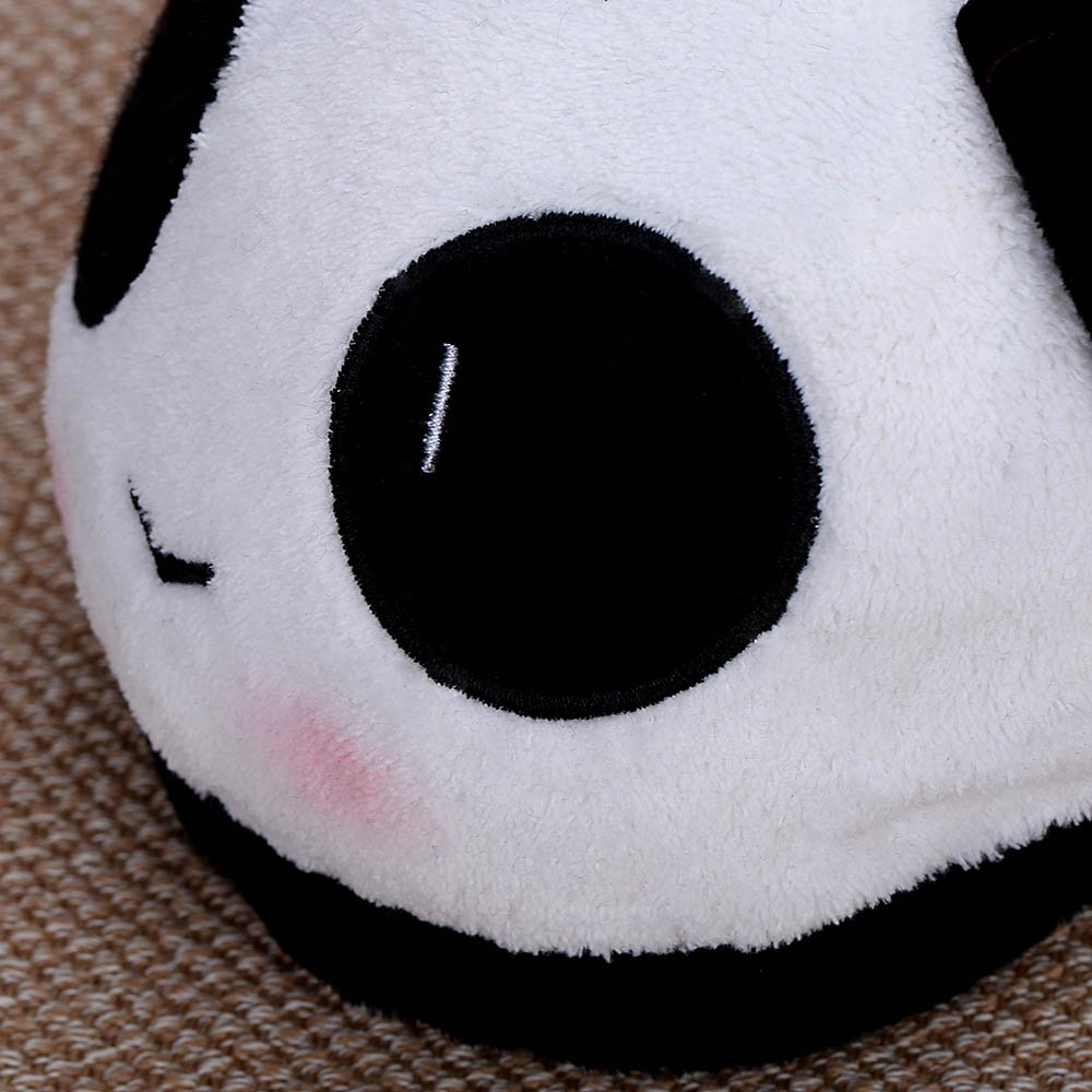 Amazon.com : Indoor Novelty 26cm / 10.24in Lovely Cartoon Panda Face Soft Plush Household Thermal Shoes for Lovers Winter Warm Slippers : Everything Else