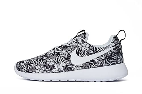 eabc5b85691dc Nike Men s Roshe One Print Prem Sneakers White Size  13 UK  Amazon ...