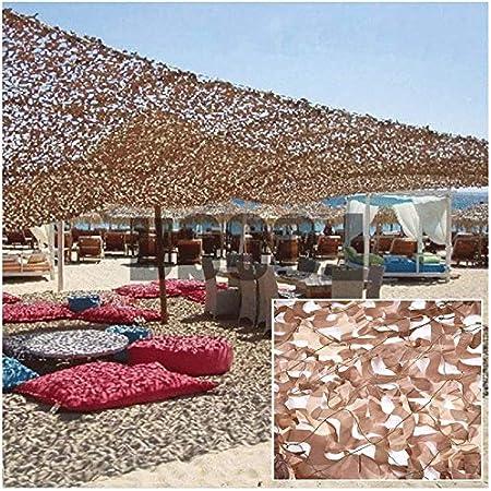Red De Camuflaje 3x5m Sombra Toldo De Vela Terraza Tienda De Pérgola Protector Solar Camouflage Net Carport del Desierto Toldo De Lona Solar Balcón Decoración De Jardín 4m 6m 8m 10m: Amazon.es: