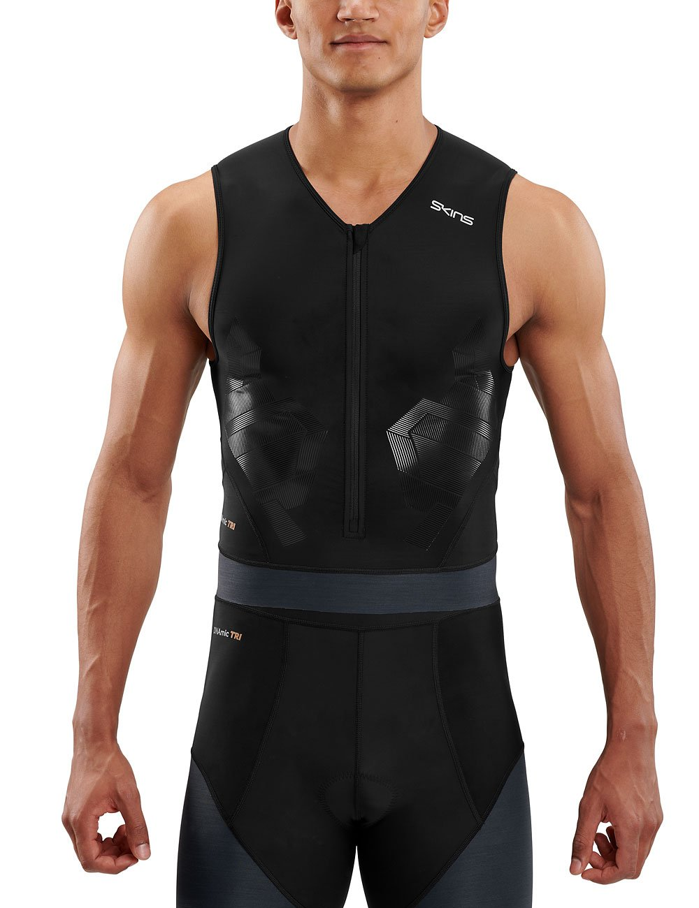 Skins Herren DNAmic Triathlon S/l Top