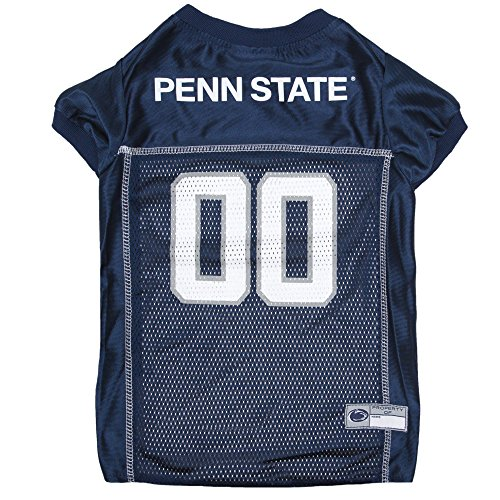Pets First Collegiate Penn State Nittany Lions Dog Mesh Jersey, X-Large