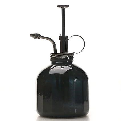 Amazon com : Purism Style Plant Mister- Black Glass Bottle & Brass