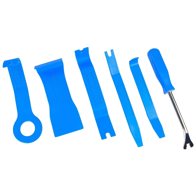Juego de 6/piezas Moldura cu/ñas para puerta verkleidungs Resuelve enderezador Desmontaje Auto Puerta verkleidung Solucionador de clip