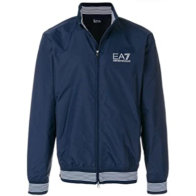 sale retailer d13f6 fd003 ARMANI JEANS Giubbotto EA7 Uomo Blu 3ZPB28PN271554: Amazon ...