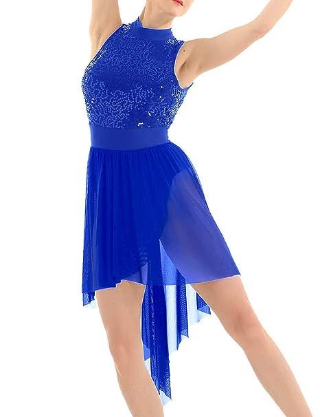 Freebily Vestido de Danza Ballet Contemporanea para Mujer Maillots ...