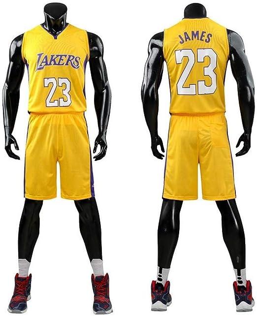 HUANGB Hombres Michael Jordan 23 Uniforme Baloncesto,C-XL: Amazon ...