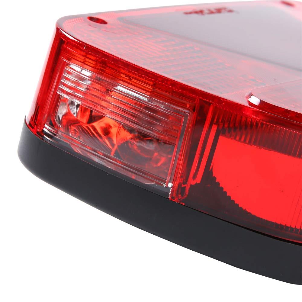 4 ampoules AOHEWEI Kit Feux Arri/ère de Remorque /Éclairage De Camion Lampe De Freinage Indicateur C/âblage Avec Fiche 13 broches c/âble 5 fils 5,5m Appropri/é /à remorque Camion Caravane ou Remorque