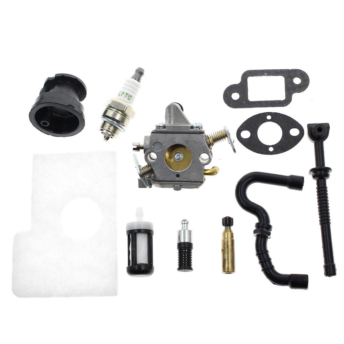 Amazon com: Carbhub C1Q-S57B Carburetor for Stihl MS170 MS180 017
