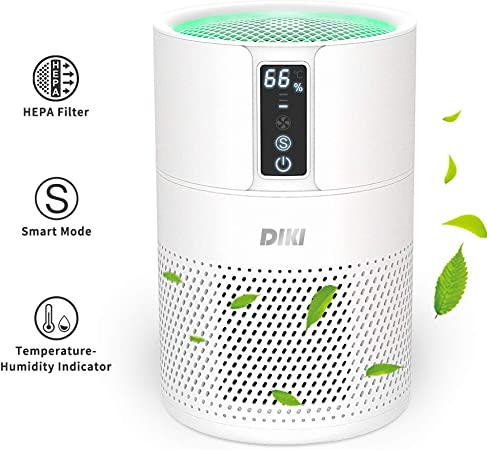 Purificador de aire Anion, DIKI filtro de aire HEPA inteligente ...