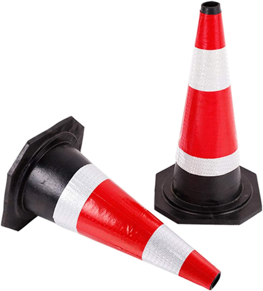 AllRight 12 x Safety cones 480mm 18 Self weighted Road Traffic Cones