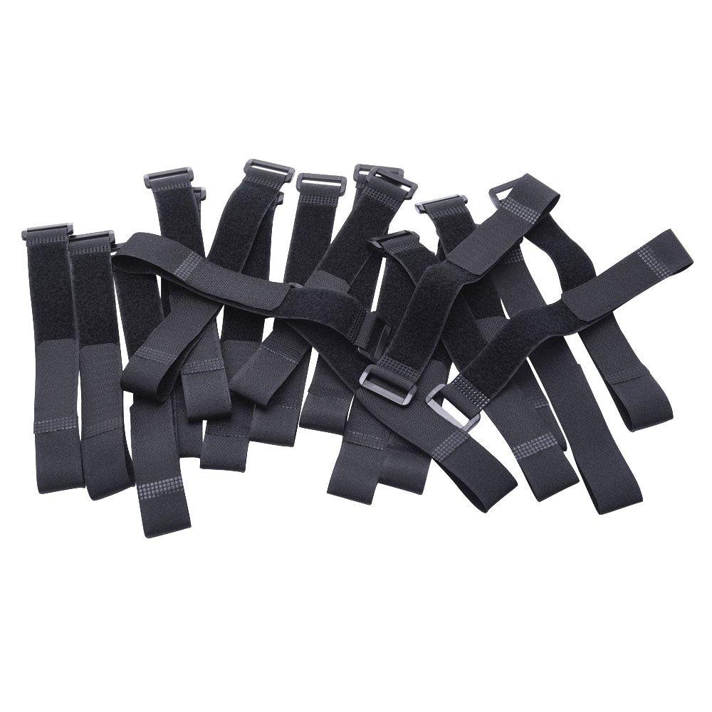 Kabelbinder Klettbänder 300 mm x 25 mm, 20: Amazon.de: Elektronik