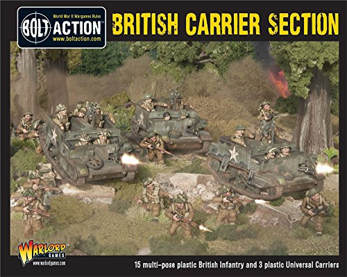 British Carrier Section Model Kit (Universal Glue Board)