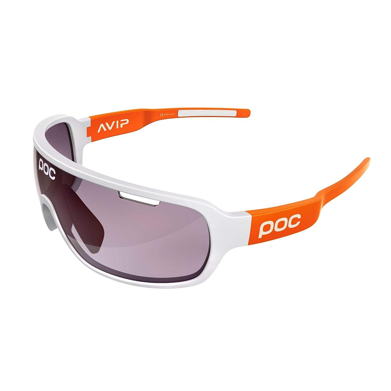 POC DO Half Blade AVIP Gafas, Unisex Adulto, Hydrogen White/Zink Orange, Talla Única Talla Única DOHB5510_8042