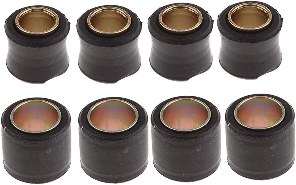 12mm Gr/ö/ße perfk 8 STK 14mm Universal Gummi Buchsen f/ür Hinterer Sto/ßd/ämpfer