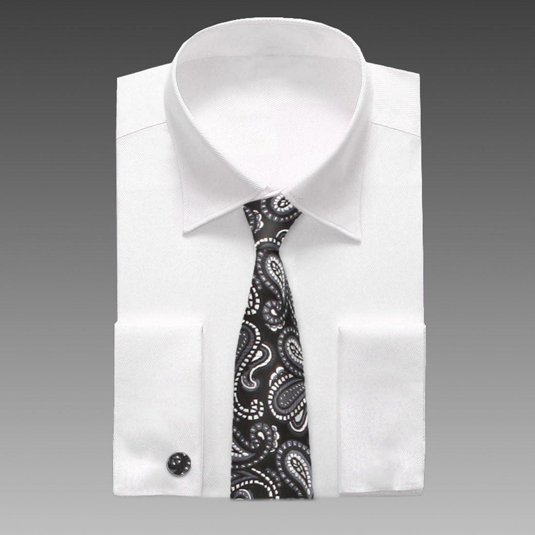 A7001 purple pink paisley gift idea for husband silk mens necktie cufflinks Y/&G