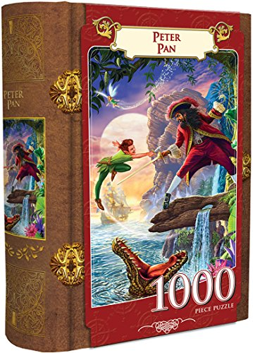 MasterPieces Peter Pan 1000 Piece Book Box Jigsaw Puzzle from MasterPieces