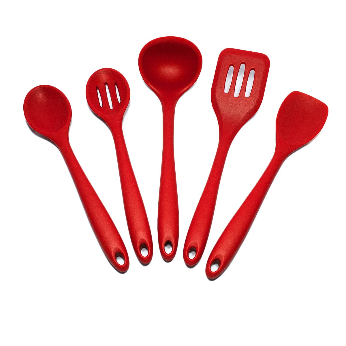 Merveilleux Amazon.com: Sorbus Silicone Kitchen Utensil Set In Solid Coating Dishwasher  Safe (5 Piece): Kitchen U0026 Dining