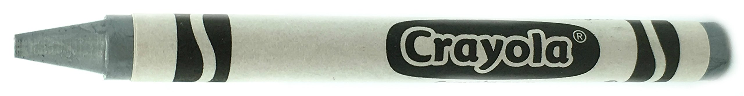 50 Silver Crayons Bulk - Single Color Crayon Refill - Regular Size 5/16'' x 3-5/8''