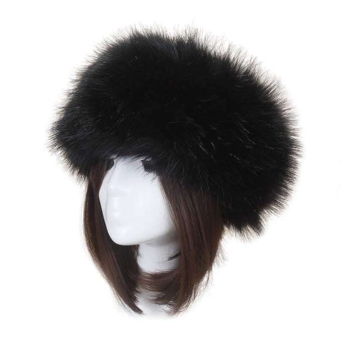 Loveble Cappellino In Pelliccia Sintetica Da Donna Invernale Caldo Cappello  Russo Cosacco  Amazon.it  Abbigliamento d4a95e7ad5d1