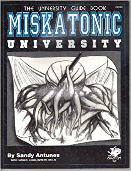 Book Miskatonic University: Where Science Meets the Mythos (Call of Cthulhu Horror Roleplaying)