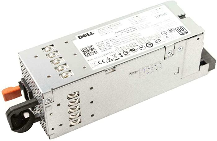 Dell - 870 Watt Hot-plug Redundant Power Supply Unit for PowerEdge R710, T610, and PowerVault DL2100, NX3000 Systems. One year warranty. MFR # YFG1C