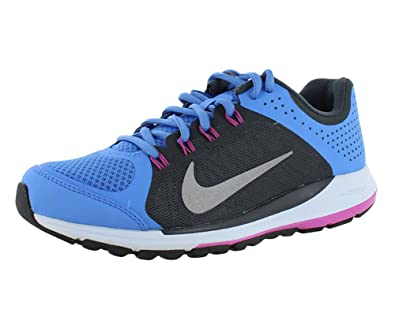 NIKE Women Zoom Elite+ 6 Running Shoe,BluAnthrcitClubPnkReflect Silver,8 B M US