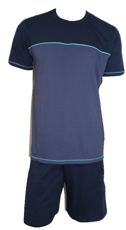 Schiesser Herren Schlafanzug Pyjama Shorty kurz blau SK3 UVP 49, 95 € 95 €