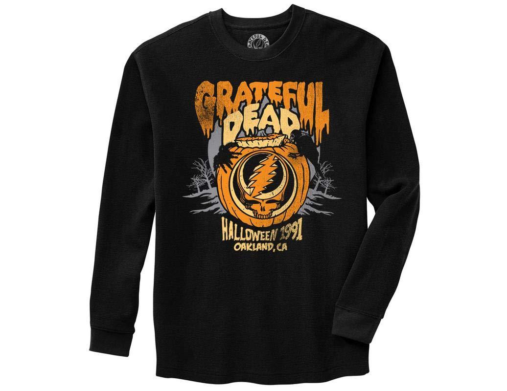 Grateful Dead Halloween Pumpkin Adult Thermal 7452 Shirts