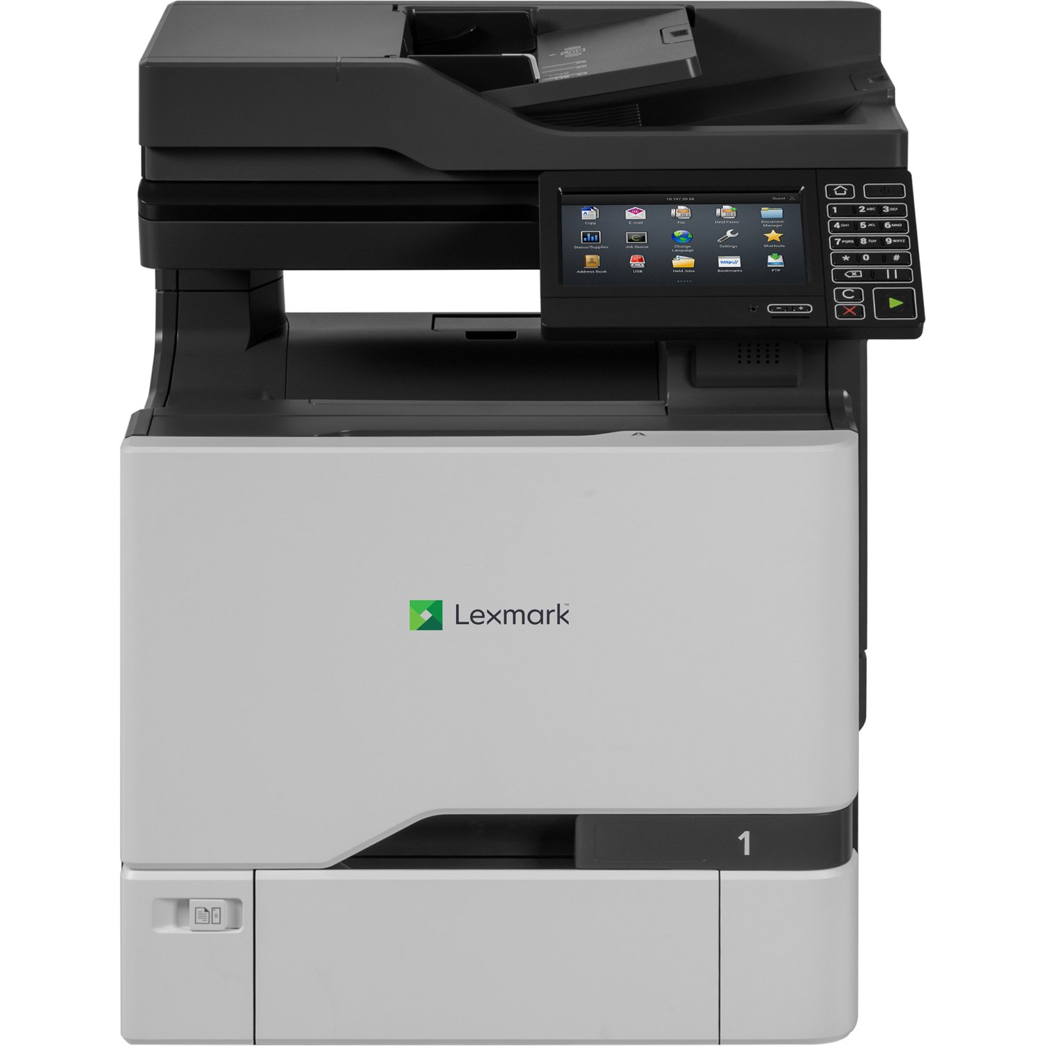 Lexmark CX725de Color All-In One Laser Printer, Network Ready, Duplex Printing and Professional Features