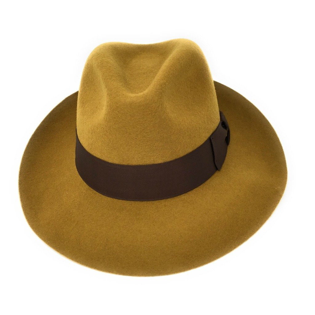 cbc0551f996d56 Womens Fedora Hat, Premium Wool, Mayfair - Snap Brim, High Crown, Lined:  Amazon.co.uk: Clothing
