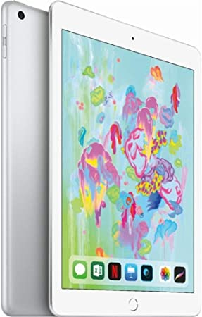 Amazon Com Apple 9 7in Ipad 6th Generation 128gb Wi Fi Only Silver Renewed Computers Accessories