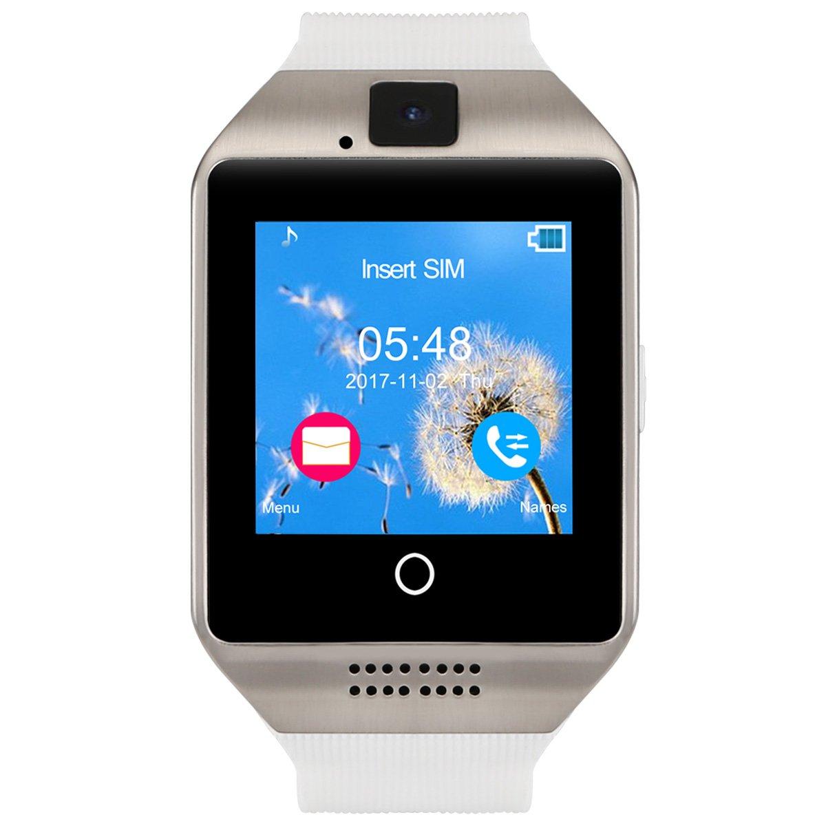 Kivors Reloj Inteligente, Q18 Bluetooth Smartwatch Bluetooth 3.0 ...