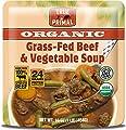 True Primal Organic Grass-Fed Beef & Vegetable Soup (Paleo, Gluten-free, Grain-free, Microwavable) 10-pack