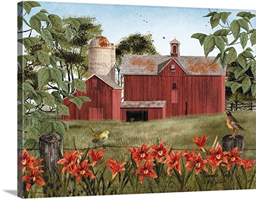 Billy Jacobs Premium Thick-Wrap Canvas Wall Art 24X30 Inch (Summer Days)