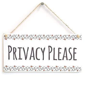 Privacidad Por favor - funcional no molestar para colgar B ...