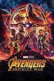 Marvel Comics Avengers: infinity War (un foglio) Maxi Poster, multicolore, 61x 91.5cm