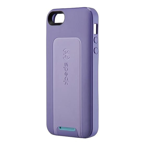 online store 328c1 e8536 Speck Products SmartFlex View Case for iPhone 5 & 5S - Grape  Purple/Lavender/Peacock Blue, Purple/Blue