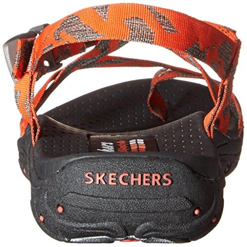 Skechers Reggae del dedo del pie del anillo de la sandalia Orange