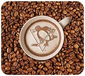 Pittsburgh Penguins Latteam Coffee Art Mousepad Packaged