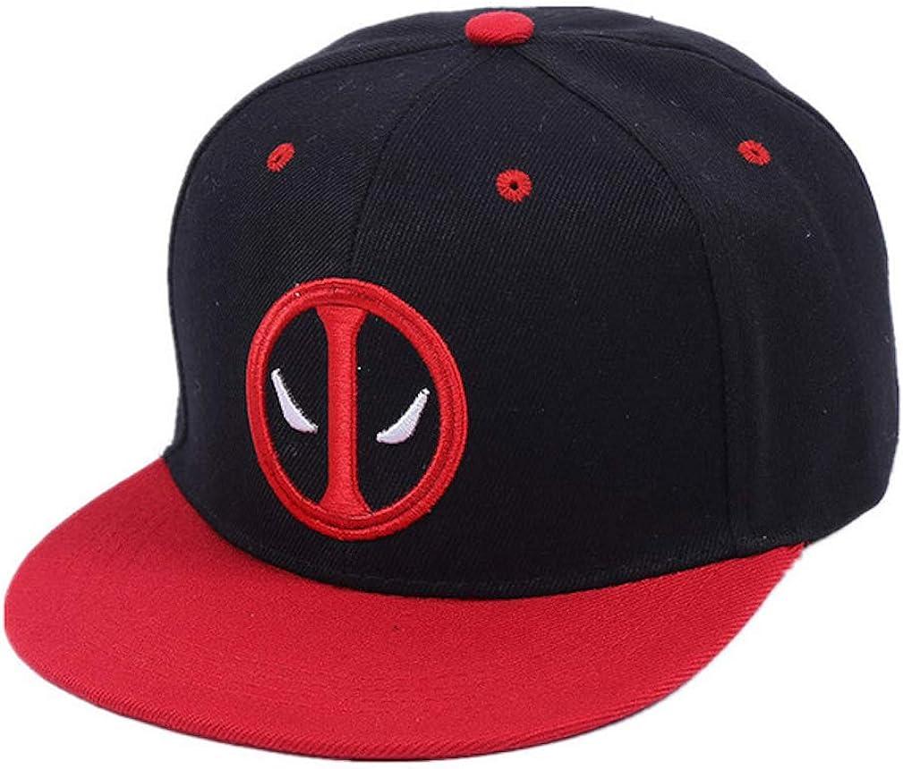 Deadpool Hip Hop Snapback Gorra de verano Sombrero Gorra de ...