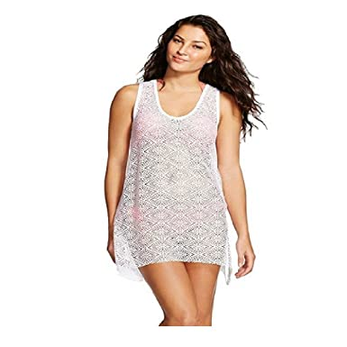 Amazon.com: mossimo Crochet de la mujer Cover Up Vestidos, L ...