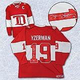 Autographed Steve Yzerman Detroit Red Wings Winter Classic Alumni Jersey - Signed NHL Jerseys