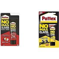 Pattex No Mas Clavos Para Todo HighTack Adhesivo de montaje resistente a temperaturas extremas + No Más Clavos Original…