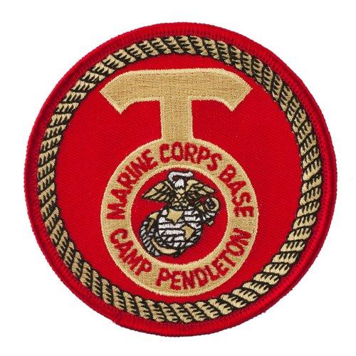 Assorted Marine Corps. Patches - M.C. Base Camp Pendleton OSFM