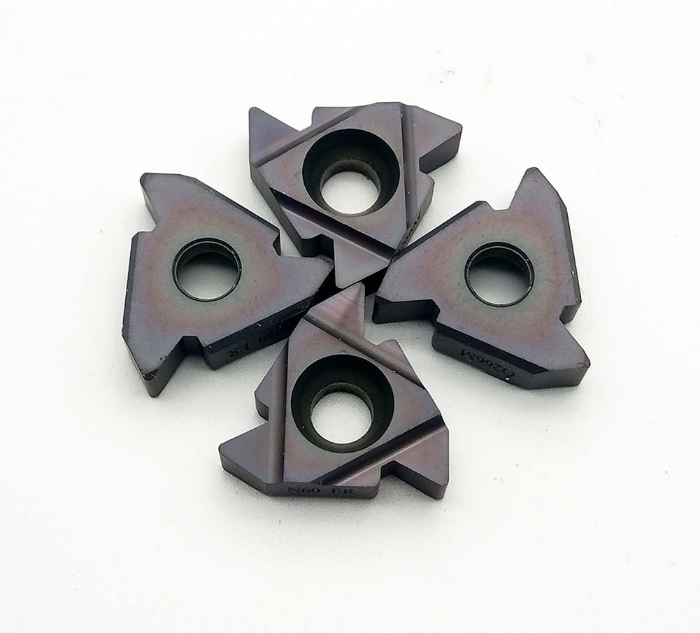 22ERN60 SMX35 Indexable Carbide Inserts Blade For Machining Stainless Steel And Cast Iron High Strength High Toughness