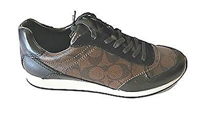 9c7d3cc44467d Amazon.com | Coach Signature C REBECCA Tennis Sneaker Shoes In ...