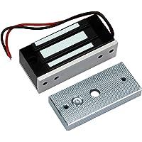 HFeng Elektromagnetische vergrendeling toegangscontrole 60 kg / 132 lbs elektronische magneetsluiting DC 12 V…