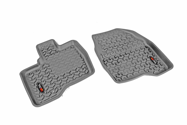 Rugged Ridge All-Terrain 82952.14 Black Second Row Floor Liner For Select Ford Explorer Models